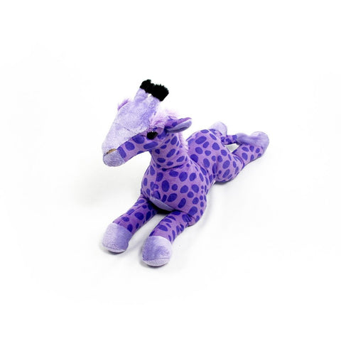 "Wishpets 14"" Floppy Purple Giraffe Stuffed Plush Toy"