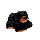 "Wishpets 15"" Big Nose Black Bear Stuffed Plush Toy"