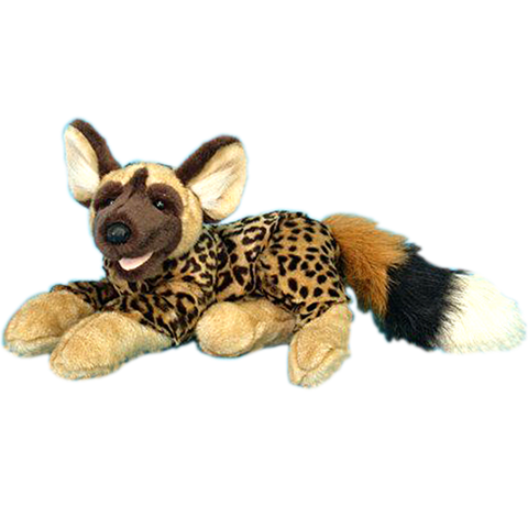 "Wishpets 15"" Floppy Hyena Stuffed Plush Toy"