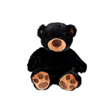 "Wishpets 15"" Sitting Pawee Black Bear Stuffed Plush Toy"