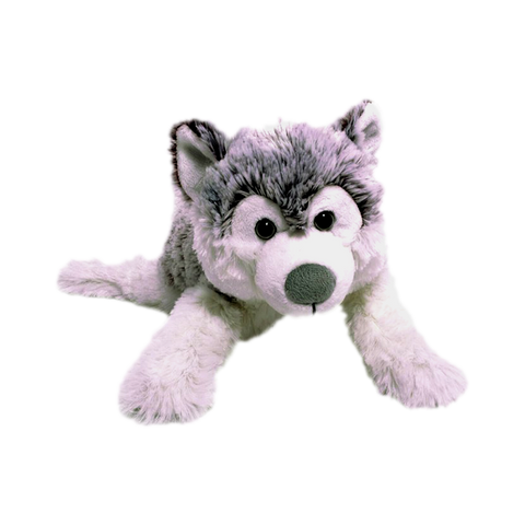 "Wishpets 17"" Floppy Husky Stuffed Plush Toy"