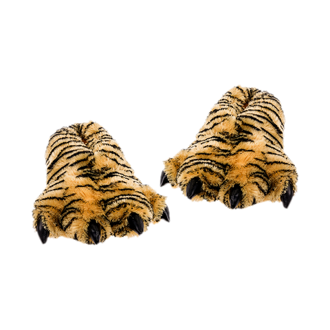 Wishpets Furry Bengal Tiger Plush Slipper