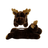 Wishpets Fuzzy Moose Plush Slippers