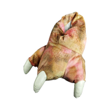 Wishpets Pink Plush Dinosaur Slippers