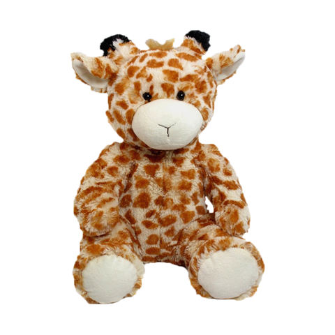 "Wishpets 14"" Floppy Natural Giraffe Stuffed Plush Toy"