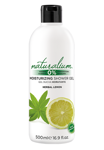 Moisturizing Shower Gel by Naturalium (Herbal Lemon)