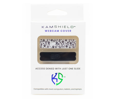 Kamshield Puppy Footprints/Black