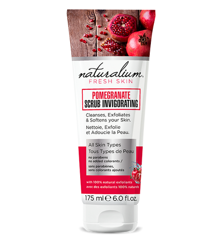 Natural Face Scrub by Naturalium (Pomegranate)