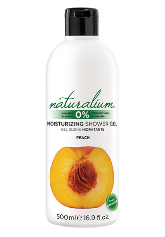 Moisturizing Shower Gel by Naturalium (Peach)