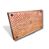 "Multi-Purpose Diamond Large Boot and Shoe Tray | Copper 23"" Boot Tray 