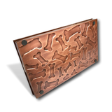 "Multi-Purpose Dog Bone Large Boot Tray with Grip Grids | Copper 23"" Boot Tray 