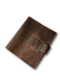 Handmade Vintage Leather Journal Wrap, Diary & Notebook Cover by Kauri Design