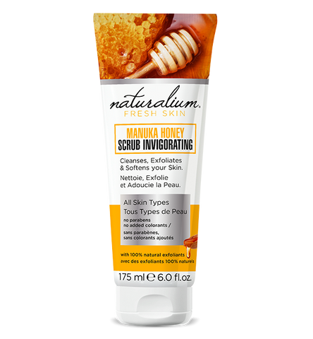 Natural Face Scrub by Naturalium (Manuka Honey)
