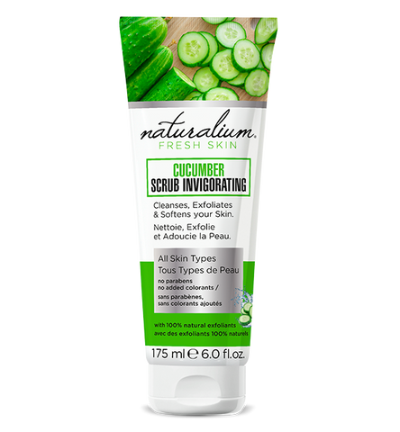 Natural Face Scrub by Naturalium (Cucumber)