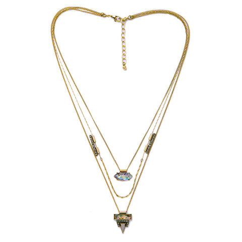 Marina Boho Layered 3pc Necklace - La Petite Boheme