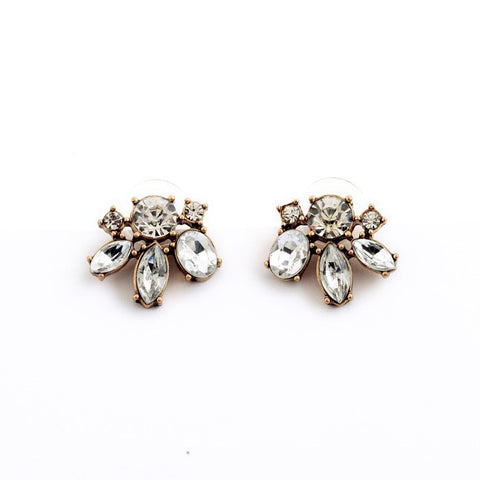 Carrie Crystal Stud Earrings - Staff Pick! - La Petite Boheme