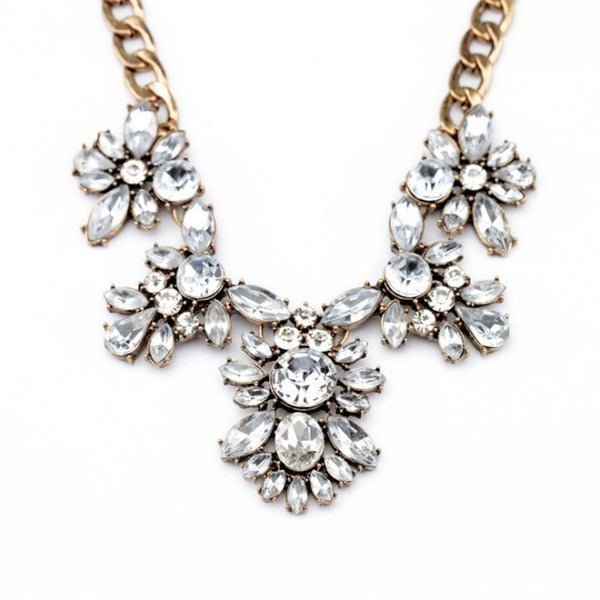 Layla Crystal Statement Necklace - Best Seller