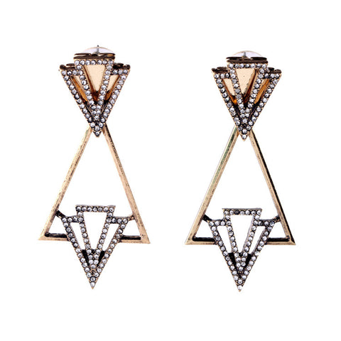 Tanya Art Deco Earrings - La Petite Boheme
