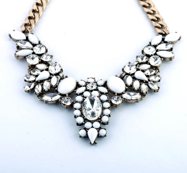 Drew Statement Necklace - Best Seller! - La Petite Boheme