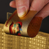 Gold Washable Playing Cards