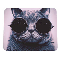 Sunglasses Cat Mouse Pad