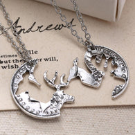 FREE Buck and Doe Antique Coin Necklace