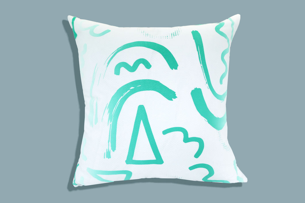 Abstract no. 5 - Pillow