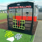 Bullpen with Radar and balls