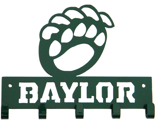 Baylor University Key Ring - Sic 'Em Bears