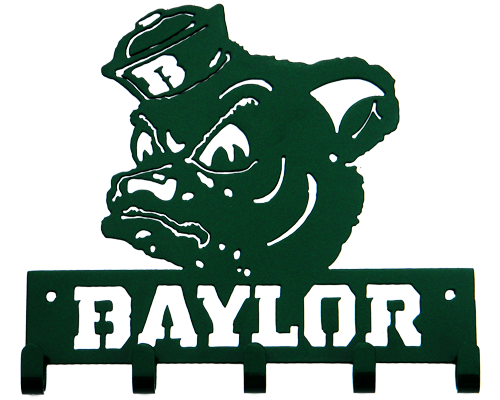 Baylor University Key Ring - Sic 'Em Bears - Sailor Bear