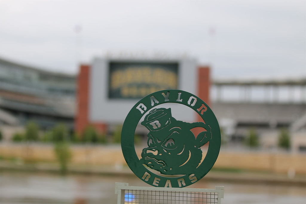 Baylor University Sign - Sic 'Em Bears - Sailor Bear