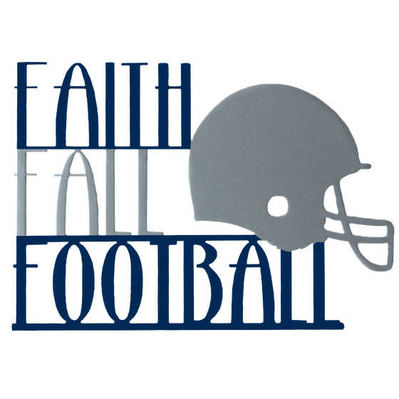 Faith Fall and Football Football Wreath Fall Wreath Football Season Cowboys Football Dallas Cowboys
