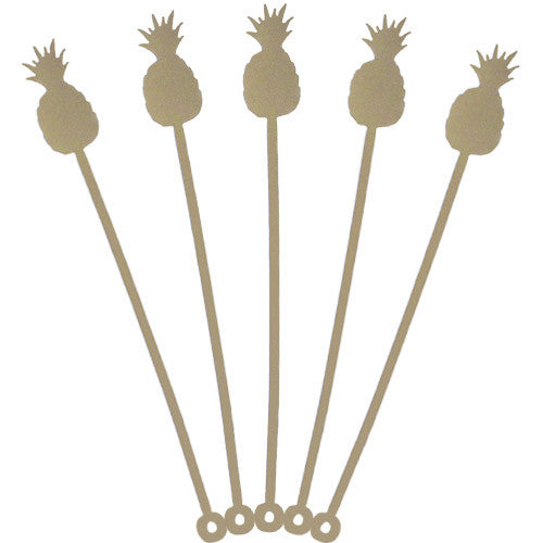 Pineapple Drink Stirrer Set