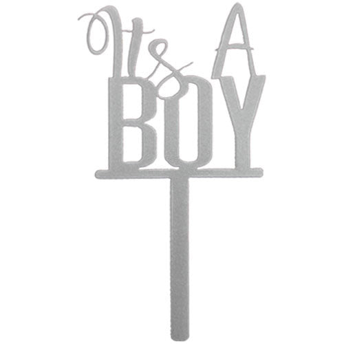 It's a Boy Cake Topper - Baby Shower Cake Topper