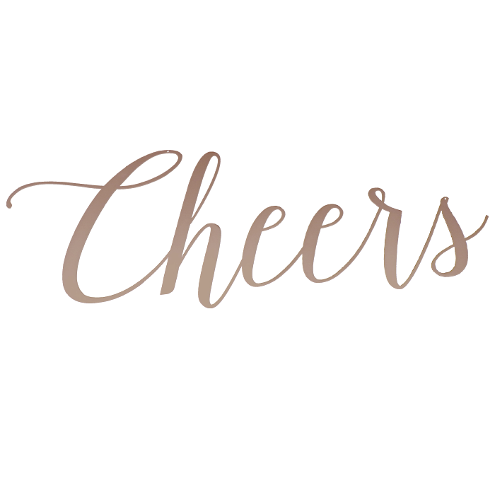 Cheers | Wall Sign
