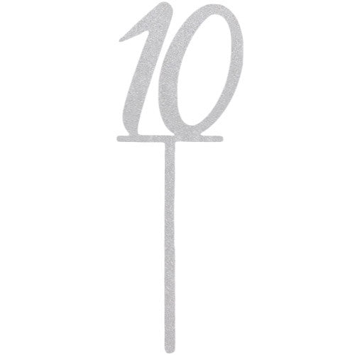 Number Ten | Cake Topper