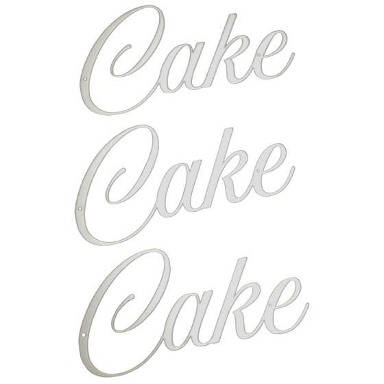 Cake Cake Cake | Wall Sign Set