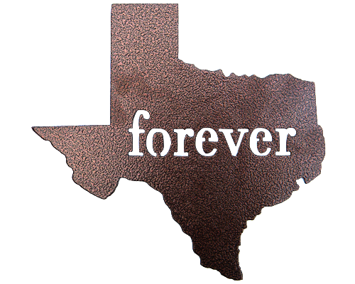 Texas Forever Sign