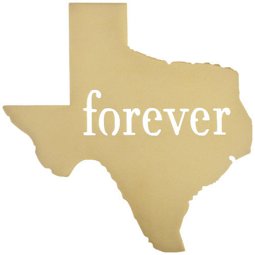 Texas Forever (or any state) | Wall Sign