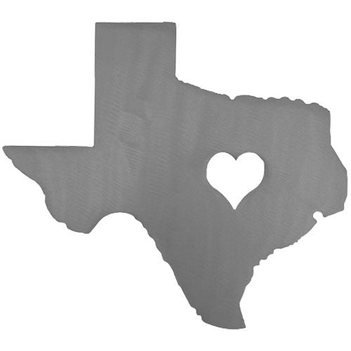 Heart of Texas Sign