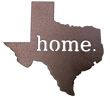Texas Home Sign