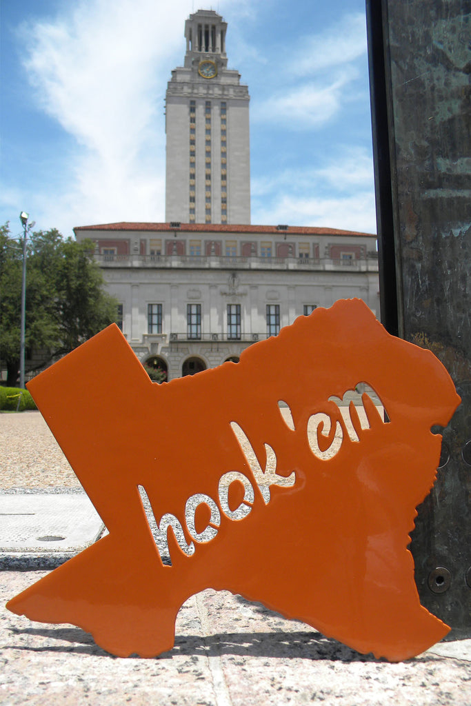 University of Texas Longhorns Hook 'Em Sign