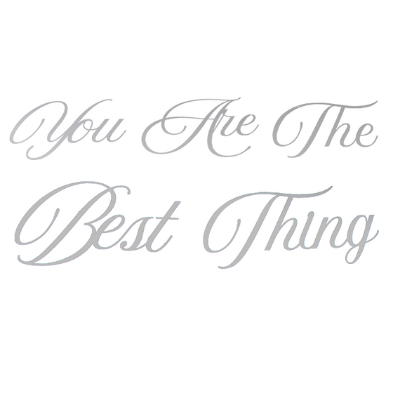 You Are The Best Thing | Wall Sign Set