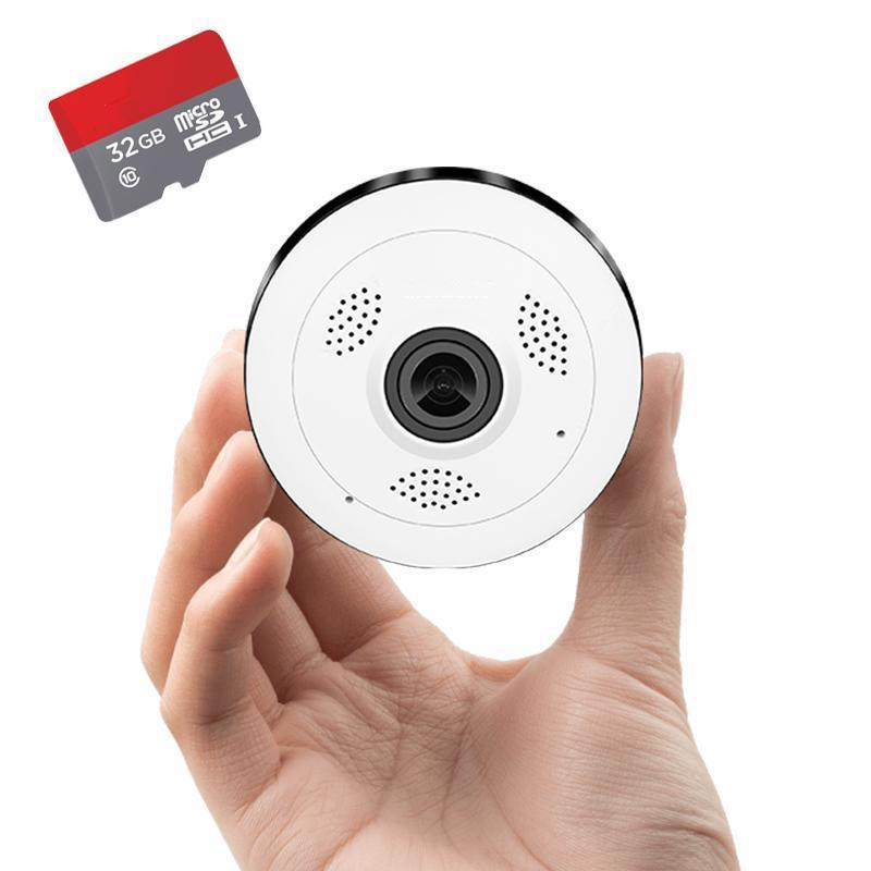 360° Panoramic Smart Home Camera