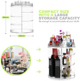 RotateX™ Rotating Makeup Organizer
