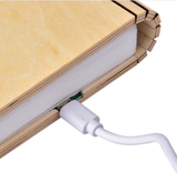 Luminate LED Folding Wooden Light Book Lamp