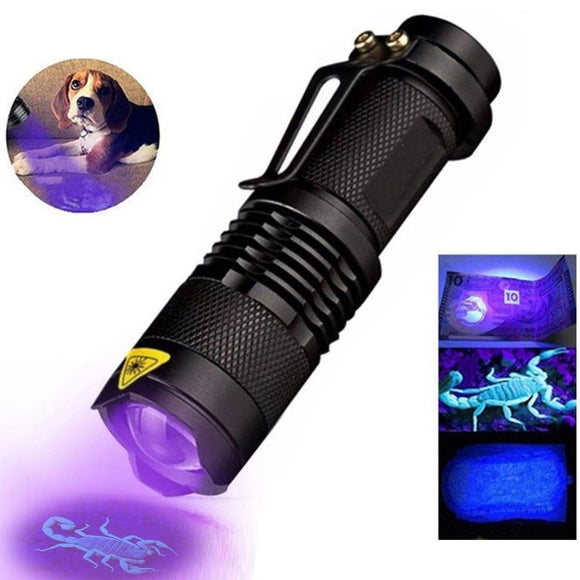 Multipurpose UV FlashLight