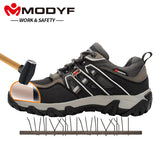 Stylish Safety Steel-Toe Boots