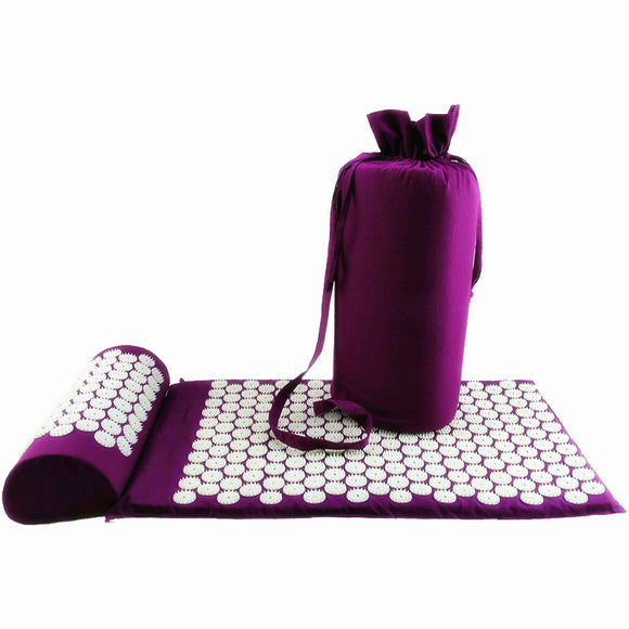AcuCure™ Pain Relief Mat + Pillow Set