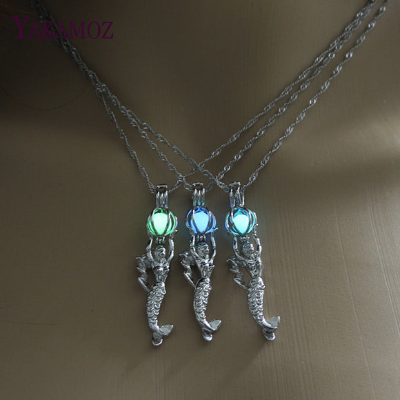 Glowing Mermaid Neckalce